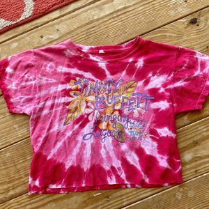 Vintage jimmy buffet cropped tee